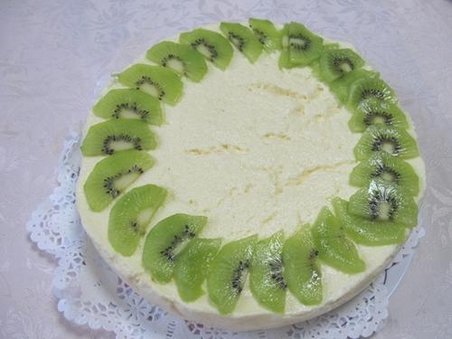 レモンムースケーキ