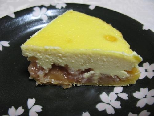 チーズタルトりんごバージョン