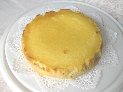 りんごのチーズタルト