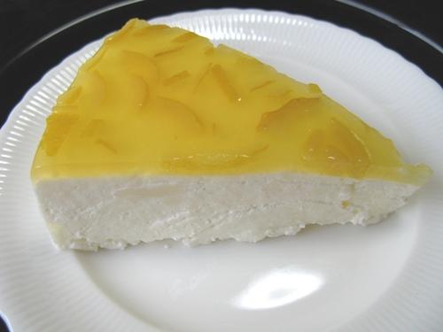 ヨーグルトケーキ(ゆずバージョン)