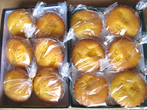 オレンジケーキ 伊予柑バージョン2