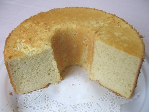 スイートポテトシフォンケーキ